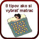 8 tipov ako si vybrať matrac