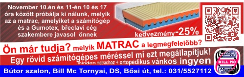 Matrace bill mc Tornyai
