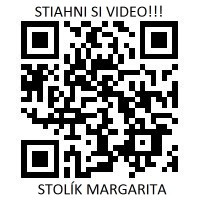 QR kód na video stolíku Margarita