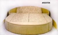 ed067194bfce Okrúhla posteľ Kristin ...
