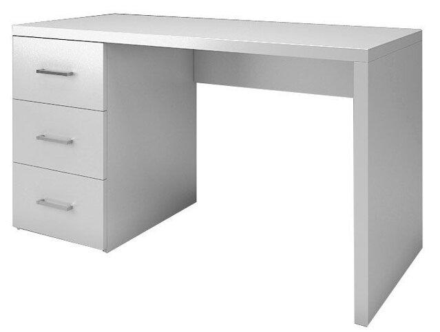 2ea9ff6a5 Písacie stoly a kancelárske kreslá. NESTEA, písací stôl biely, v.74, š.50,  ...